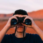 binoculars-searching